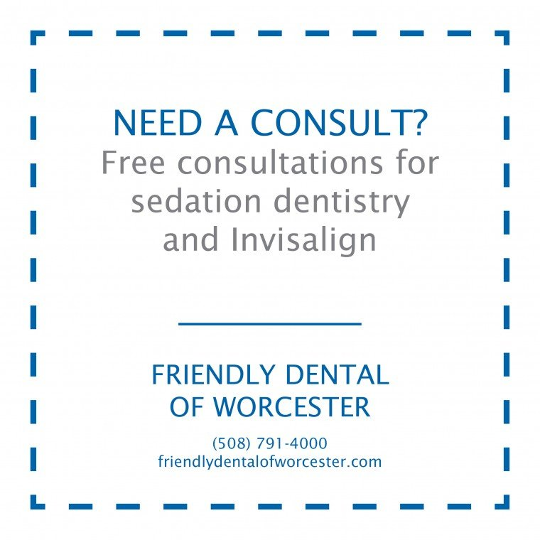 New patient consultation at Friendly Dental of Worcester MA