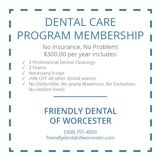 Worcester Dentistry Practice - Dental Care Program